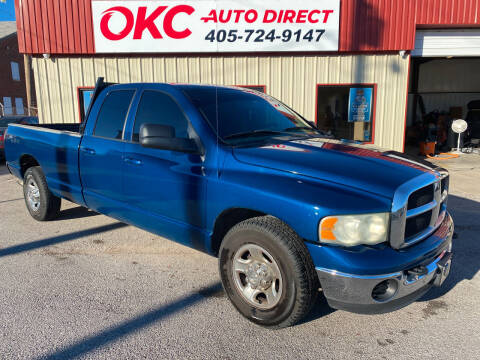 2003 Dodge Ram Pickup 2500 for sale at OKC Auto Direct in Oklahoma City OK