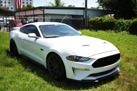 2018 Ford Mustang for sale at ELITE MOTOR CARS OF MIAMI in Miami FL