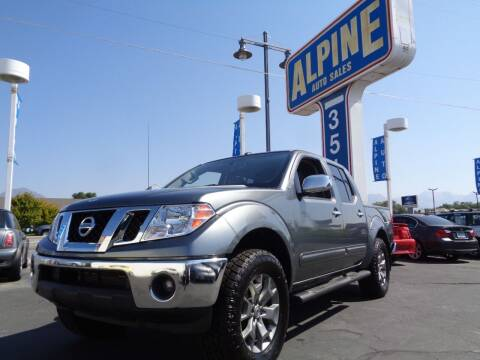 2019 Nissan Frontier for sale at Alpine Auto Sales in Salt Lake City UT