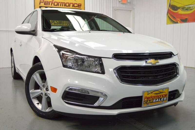 2015 Chevrolet Cruze for sale at Performance car sales in Joliet IL