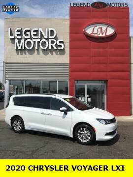 2020 Chrysler Voyager for sale at Legend Motors of Ferndale in Ferndale MI