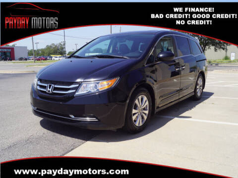 2015 Honda Odyssey for sale at Payday Motors in Wichita And Topeka KS