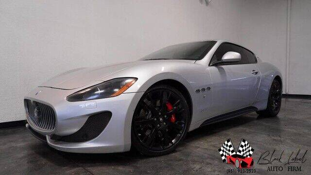 2012 Maserati GranTurismo for sale at BLACK LABEL AUTO FIRM in Riverside CA
