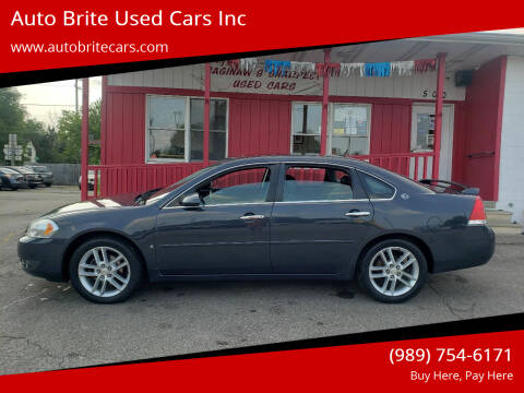 2008 Chevrolet Impala for sale at Auto Brite Used Cars Inc in Saginaw MI