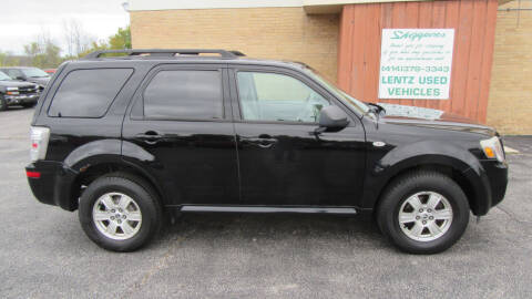 2009 Mercury Mariner for sale at LENTZ USED VEHICLES INC in Waldo WI