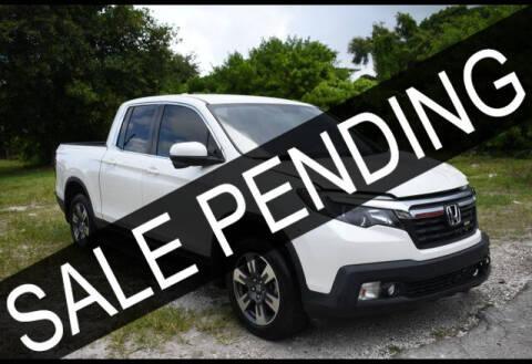 2017 Honda Ridgeline for sale at ELITE MOTOR CARS OF MIAMI in Miami FL