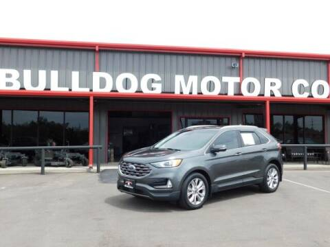 2019 Ford Edge for sale at Bulldog Motor Company in Borger TX