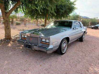 1981 Cadillac Eldorado for sale at Classic Car Deals in Cadillac MI