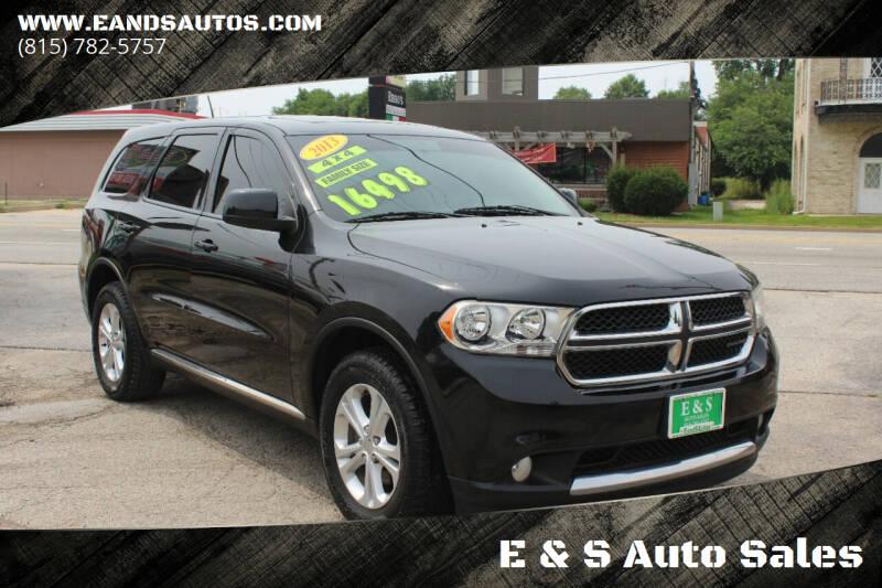2013 Dodge Durango for sale at E & S Auto Sales in Crest Hill IL