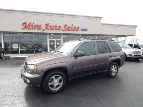 2008 Chevrolet TrailBlazer for sale at Mira Auto Sales in Dayton OH