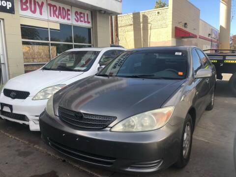 2003 Toyota Camry for sale at Capitol Hill Auto Sales LLC in Denver CO