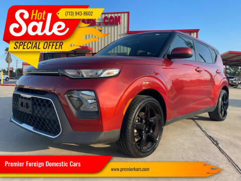 2020 Kia Soul for sale at Premier Foreign Domestic Cars in Houston TX