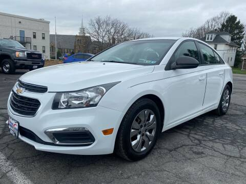 2015 Chevrolet Cruze for sale at 1NCE DRIVEN in Easton PA