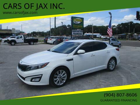 2015 Kia Optima for sale at CARS OF JAX INC. in Jacksonville FL