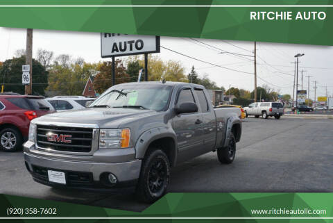 2008 GMC Sierra 1500 for sale at Ritchie Auto in Appleton WI