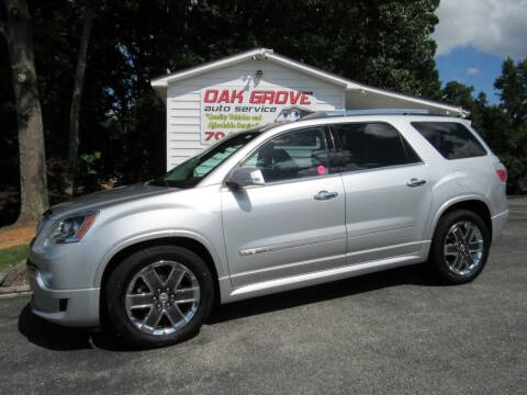 2012 GMC Acadia for sale at Oak Grove Auto Sales in Kings Mountain NC