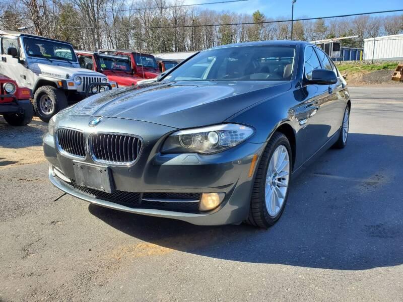 2011 BMW 5 Series for sale at MX Motors LLC in Ashland MA