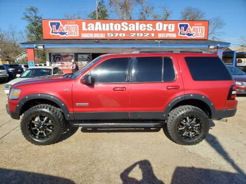 2007 Ford Explorer for sale at LA Auto Sales in Monroe LA
