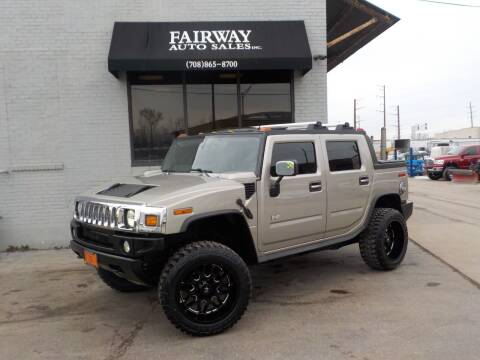 2005 HUMMER H2 SUT for sale at FAIRWAY AUTO SALES, INC. in Melrose Park IL