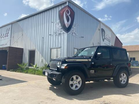 2018 Jeep Wrangler for sale at Barrett Auto Gallery in San Juan TX