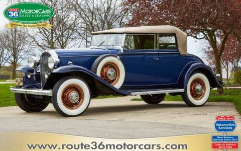 1932 Buick SERIES 90 for sale at ROUTE 36 MOTORCARS in Dublin OH
