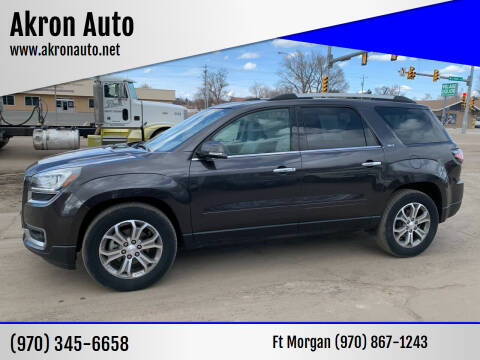 2015 GMC Acadia for sale at Akron Auto in Akron CO