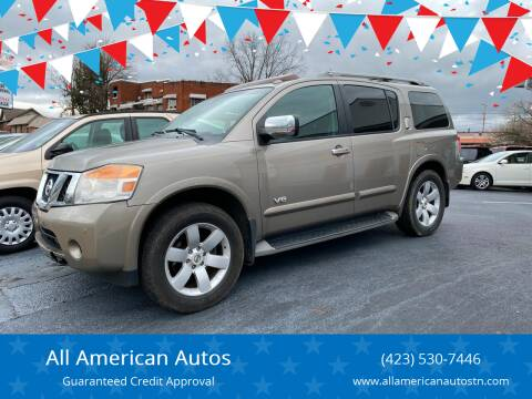 2008 Nissan Armada for sale at All American Autos in Kingsport TN
