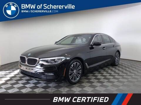 2017 BMW 5 Series for sale at BMW of Schererville in Shererville IN