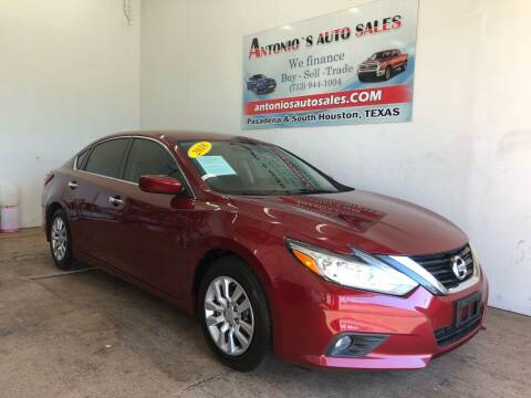 2018 Nissan Altima for sale at Antonio's Auto Sales - Antonio`s  3001 in Pasadena TX