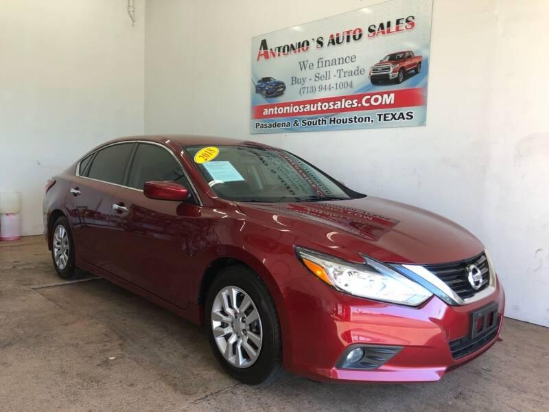 2018 Nissan Altima for sale in Pasadena, TX
