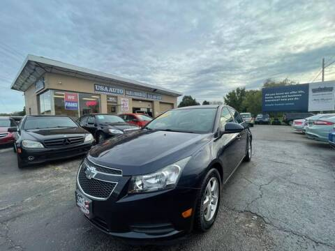 2014 Chevrolet Cruze for sale at USA Auto Sales & Services, LLC in Mason OH