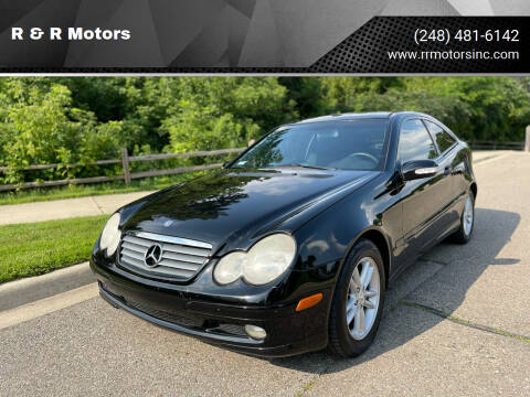 2003 Mercedes-Benz C-Class for sale at R & R Motors in Waterford MI