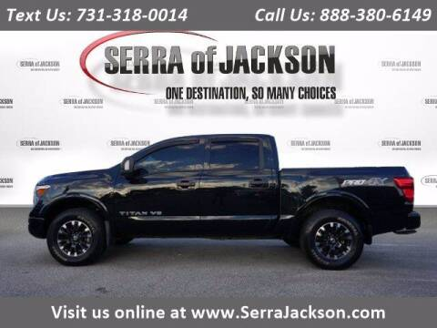 2019 Nissan Titan for sale at Serra Of Jackson in Jackson TN
