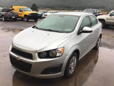 2013 Chevrolet Sonic for sale at Troys Auto Sales in Dornsife PA