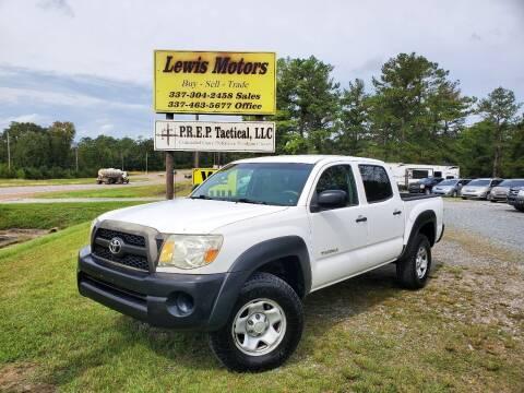 2011 Toyota Tacoma for sale at Lewis Motors LLC in Deridder LA