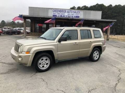 2010 Jeep Patriot for sale at Greenbrier Auto Sales in Greenbrier AR