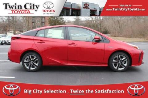 2021 Toyota Prius for sale at Twin City Toyota in Herculaneum MO