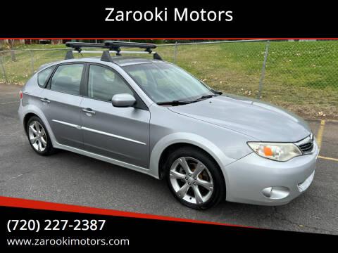 2009 Subaru Impreza for sale at Zarooki Motors in Englewood CO