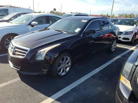 2013 Cadillac ATS for sale at AUTO ALLIANCE LLC in Miami FL