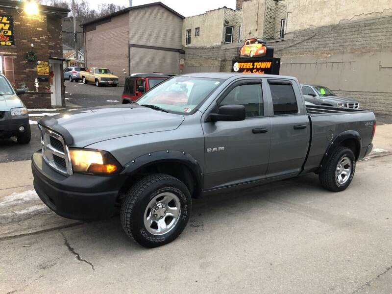 2009 Dodge Ram Pickup 1500 for sale at STEEL TOWN PRE OWNED AUTO SALES in Weirton WV