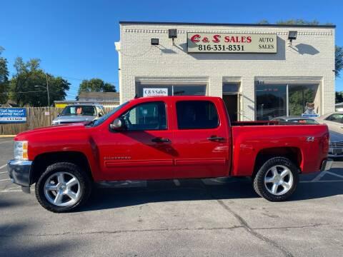 2013 Chevrolet Silverado 1500 for sale at C & S SALES in Belton MO