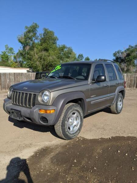 2004 Jeep Liberty for sale at HORSEPOWER AUTO BROKERS in Fort Collins CO