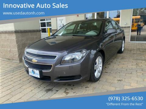 2011 Chevrolet Malibu for sale at Innovative Auto Sales in North Hampton NH