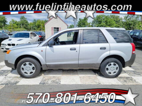 2004 Saturn Vue for sale at FUELIN FINE AUTO SALES INC in Saylorsburg PA