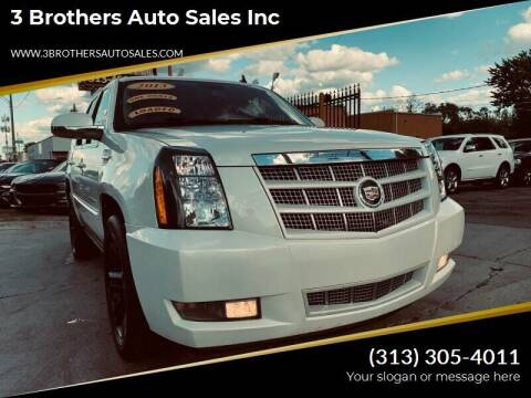 2013 Cadillac Escalade for sale at 3 Brothers Auto Sales Inc in Detroit MI