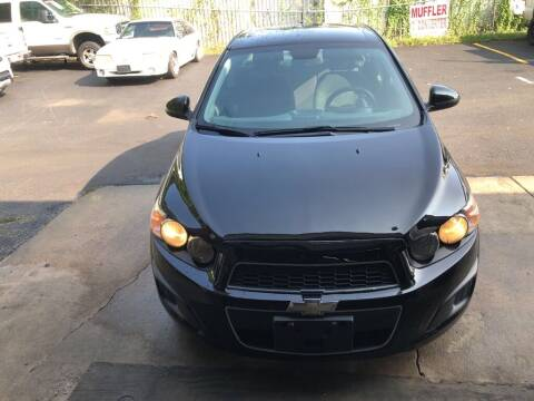 2012 Chevrolet Sonic for sale at 4 Girls Auto Sales in Houston TX