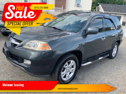 2005 Acura MDX for sale at Motown Leasing in Morristown NJ