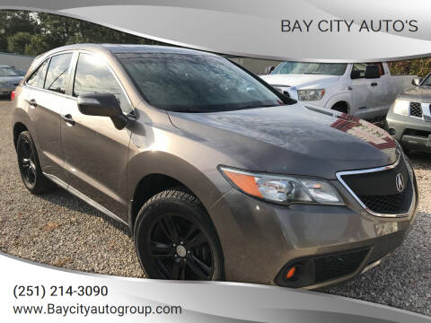 2013 Acura RDX for sale at Bay City Auto's in Mobile AL