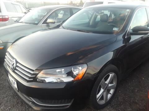 2014 Volkswagen Passat for sale at M & M Auto Brokers in Chantilly VA