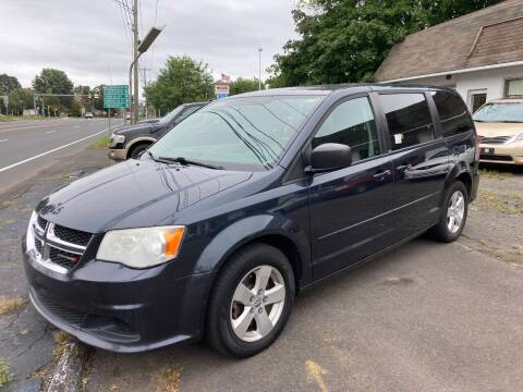 2014 Dodge Grand Caravan for sale at ENFIELD STREET AUTO SALES in Enfield CT